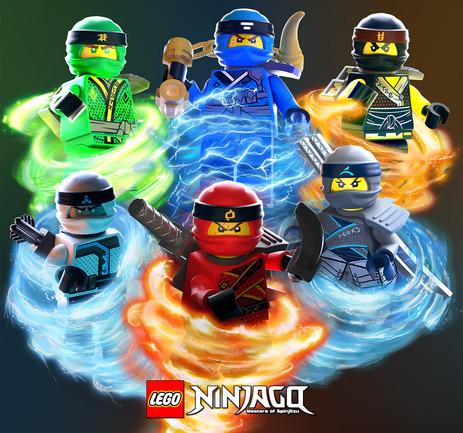 LEGO® Ninjago™ 3D Illustrations