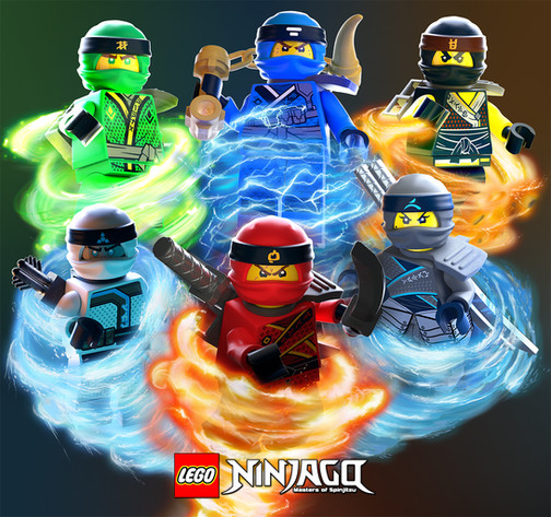 LEGO® Ninjago™ 3D Illustrations