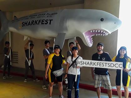 Deep Blue, The World's Biggest Shark,  Invades Comic-Con!
