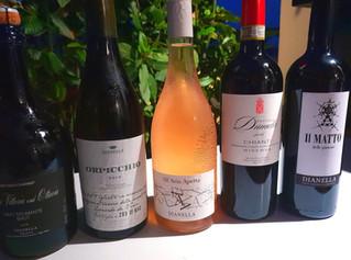 Dianella, Il vino di Vinci