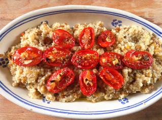 Bulgur, lenticchie e pomodori confit