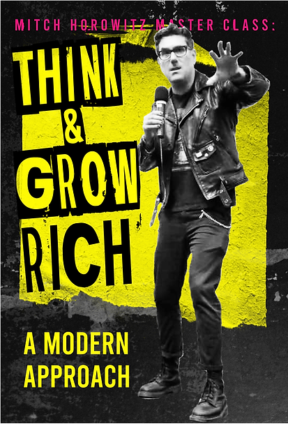Mitch Horowitz Master Class-Think and gr