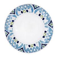 Blue Pattern Rim Plate