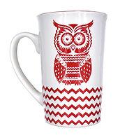 Red Owl Coffee Mug