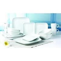 Sheer White 16-pc Dinnerware Set