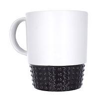 Black & White Stackable Mug