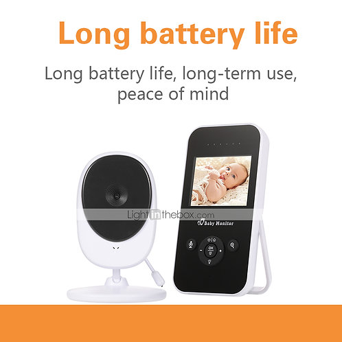 Baby Monitor 720P 2.4 HD Display Video Baby Monitor with Camera and Audio IPS Sc