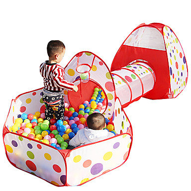 3 Piece Play Tunnel w/ Ball Pit