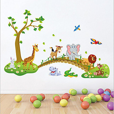 Active Animals Decorative Wall Decor