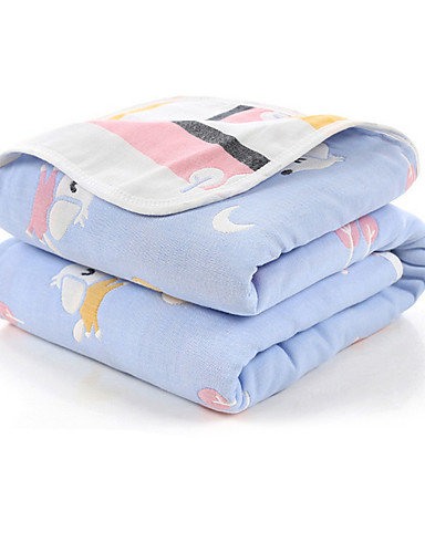Reversible Pups In The Moonlight Infant Blanket