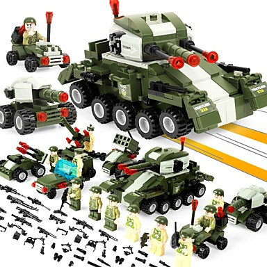484 Piece Military Men Building Blocks