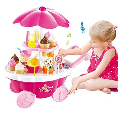Sweet Candy Shop Ice Cream Cart