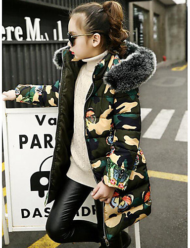 Camo Butterflies Faux Fur Jacket