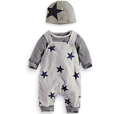 Baby Boys' Simple / Casual Daily / Going out Print Long Sleeve Regular Regular C