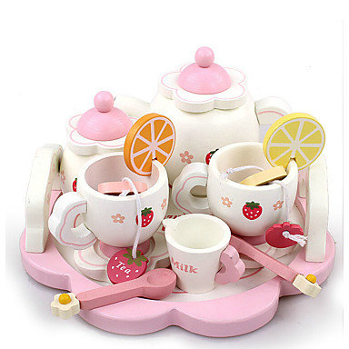 Time for Tea Wooden Tea Set