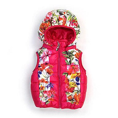 Floral Cotton Puff Vest