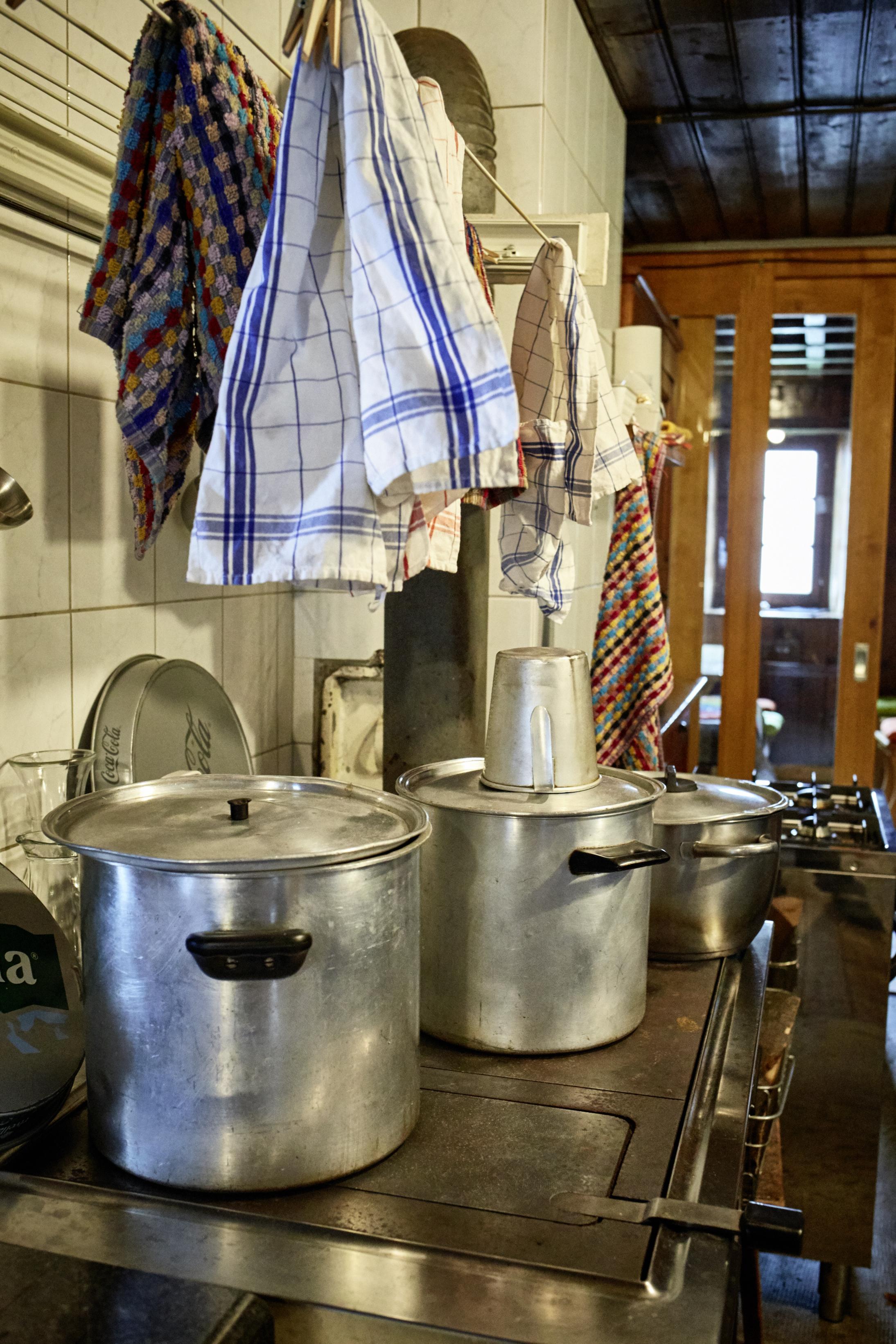 In der Küche (Adulahütte)