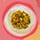 Thumbnail: Arroz de frango com lentilha - infantil