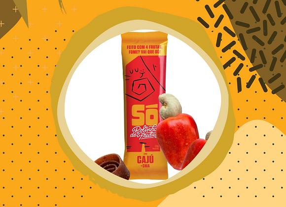 Só. Rolinho de Frutas com Caju e Chia (20g)