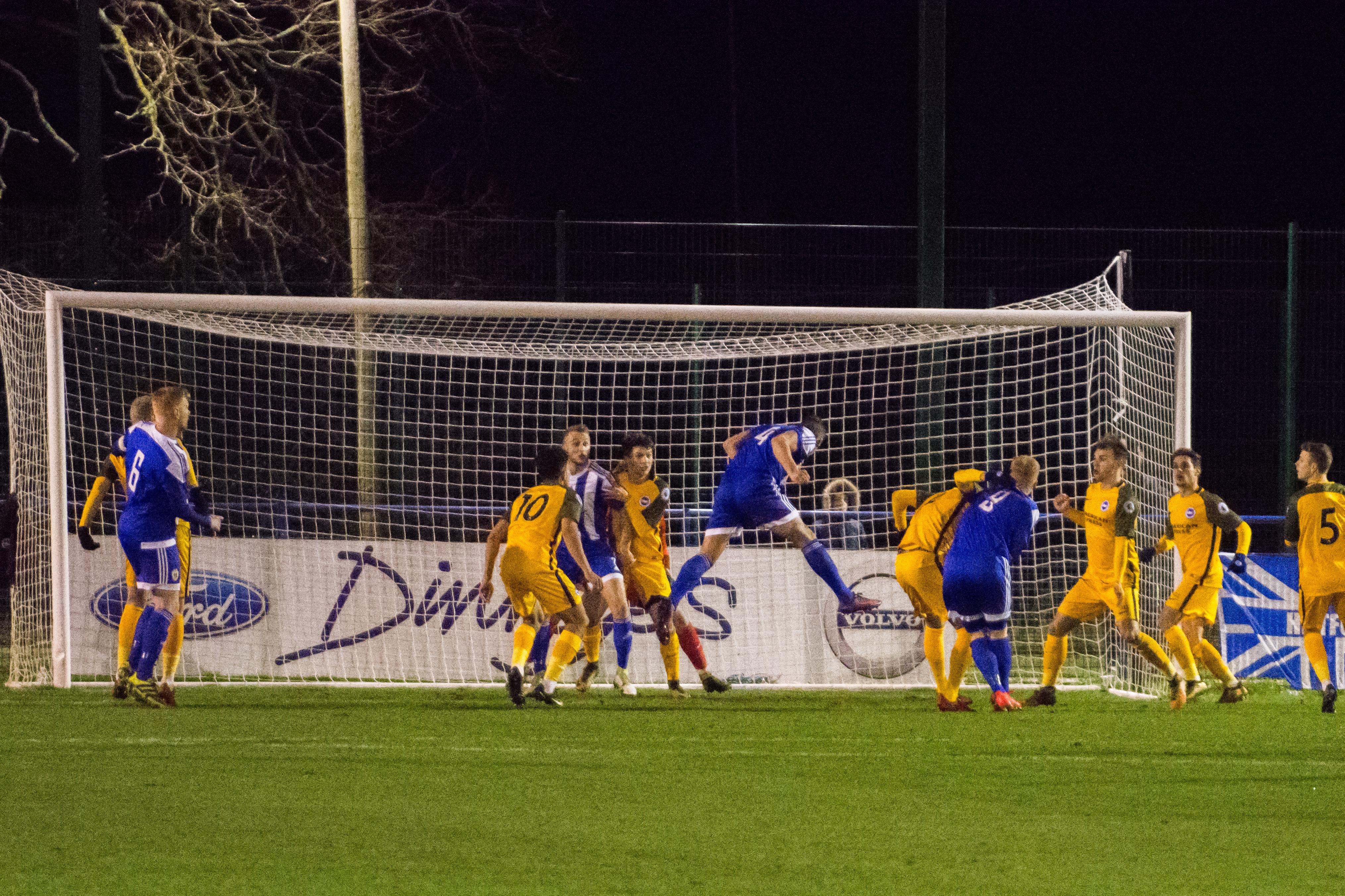 HHTFC vs BHAFC U23s 03.01.18 22