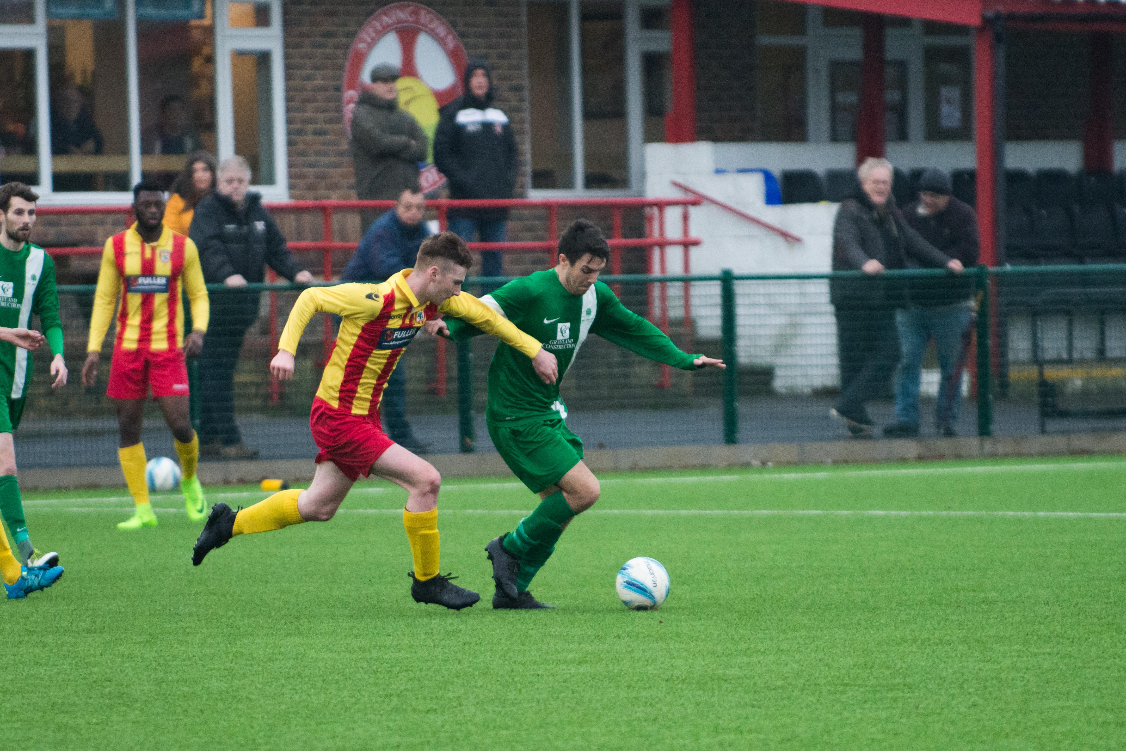 Lingfield FC vs Mile Oak FC 20.01.18 17