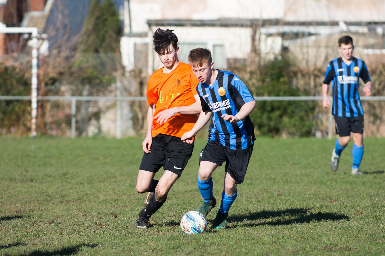 Mile Oak FC U18s vs Newhaven FC U18s 04.02.18 05