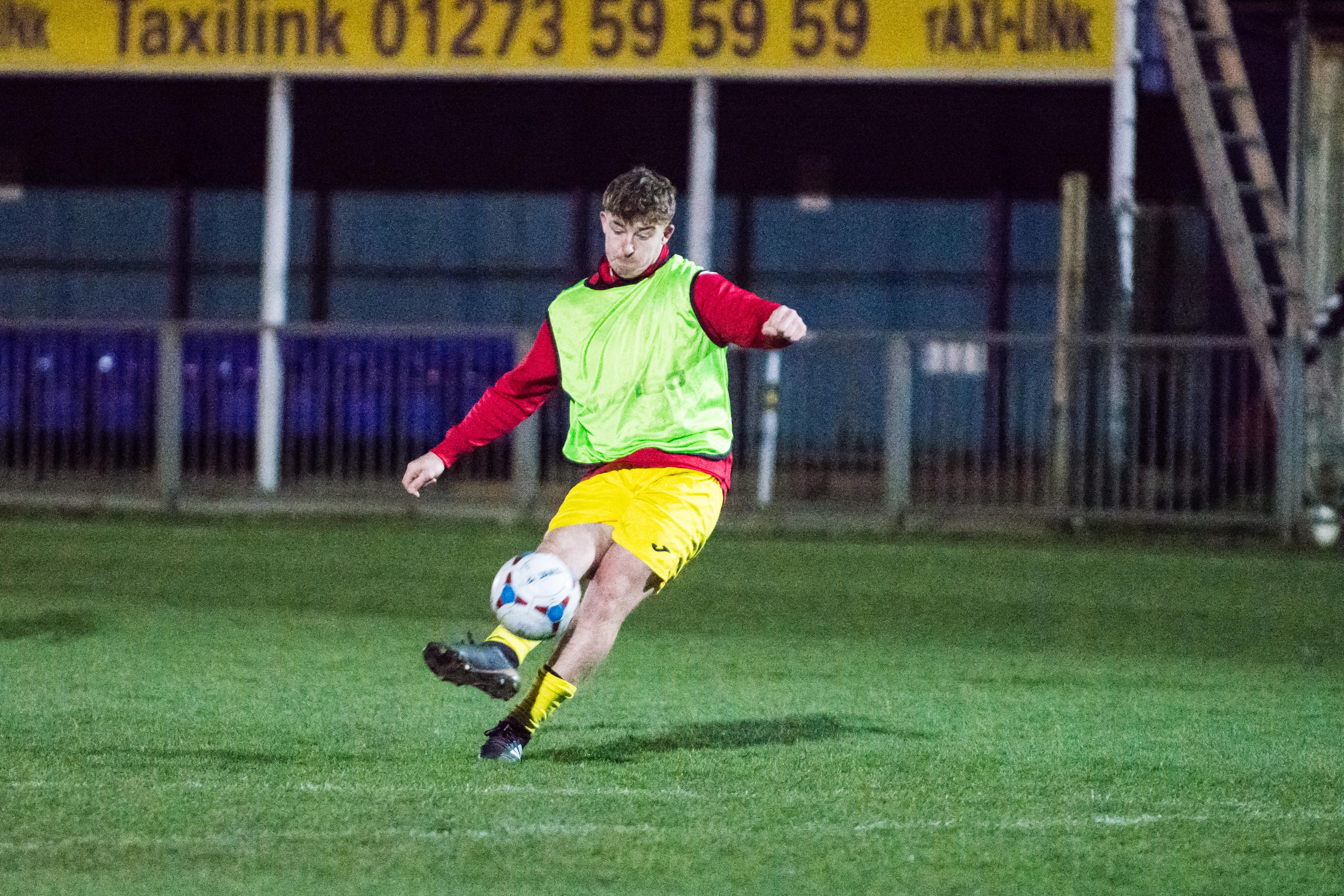 DAVID_JEFFERY Shoreham FC U18s vs Woking FC Academy 22.03.18 06