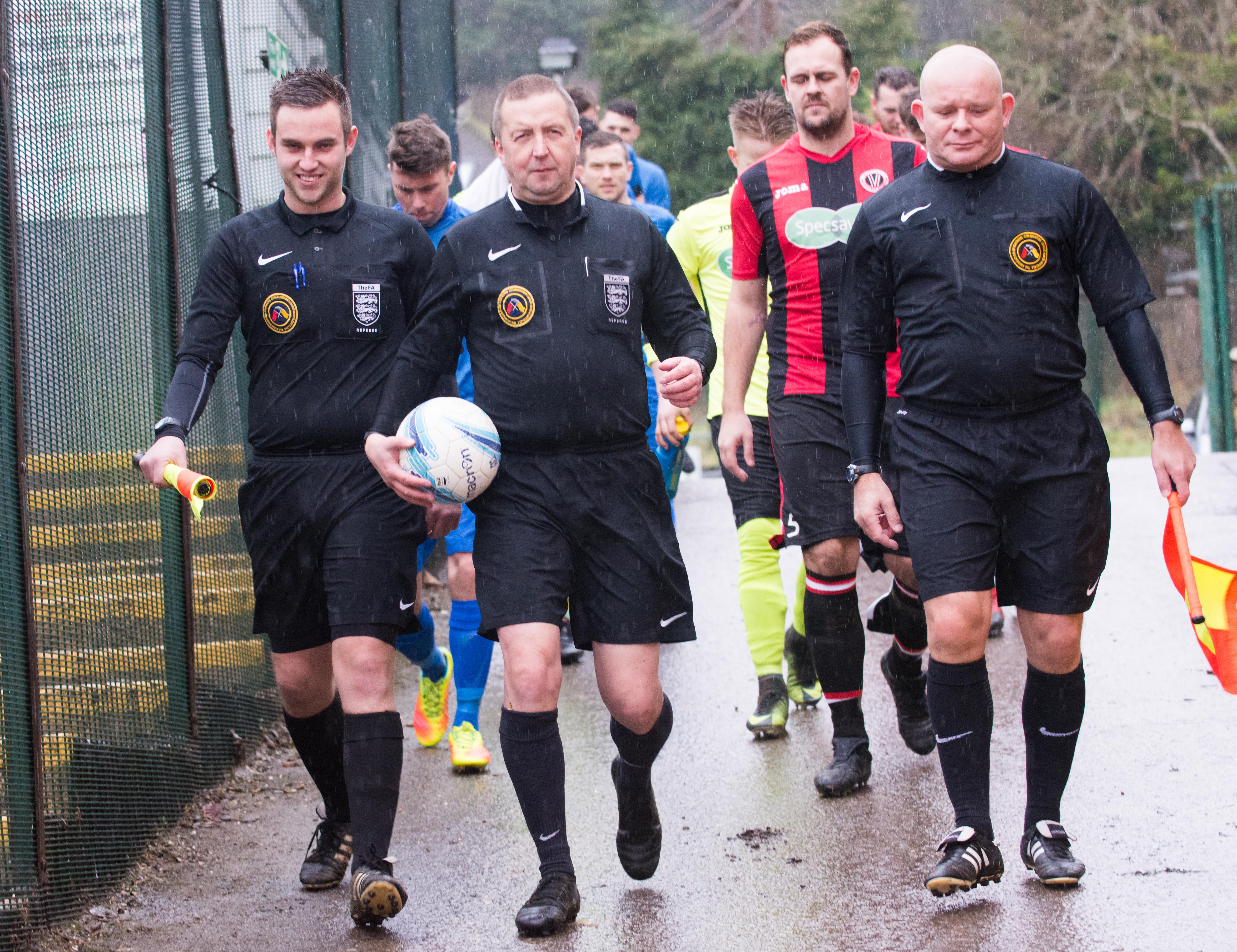 AFC Varndeanians vs Midhurst and Easebourne 27.01.18 21