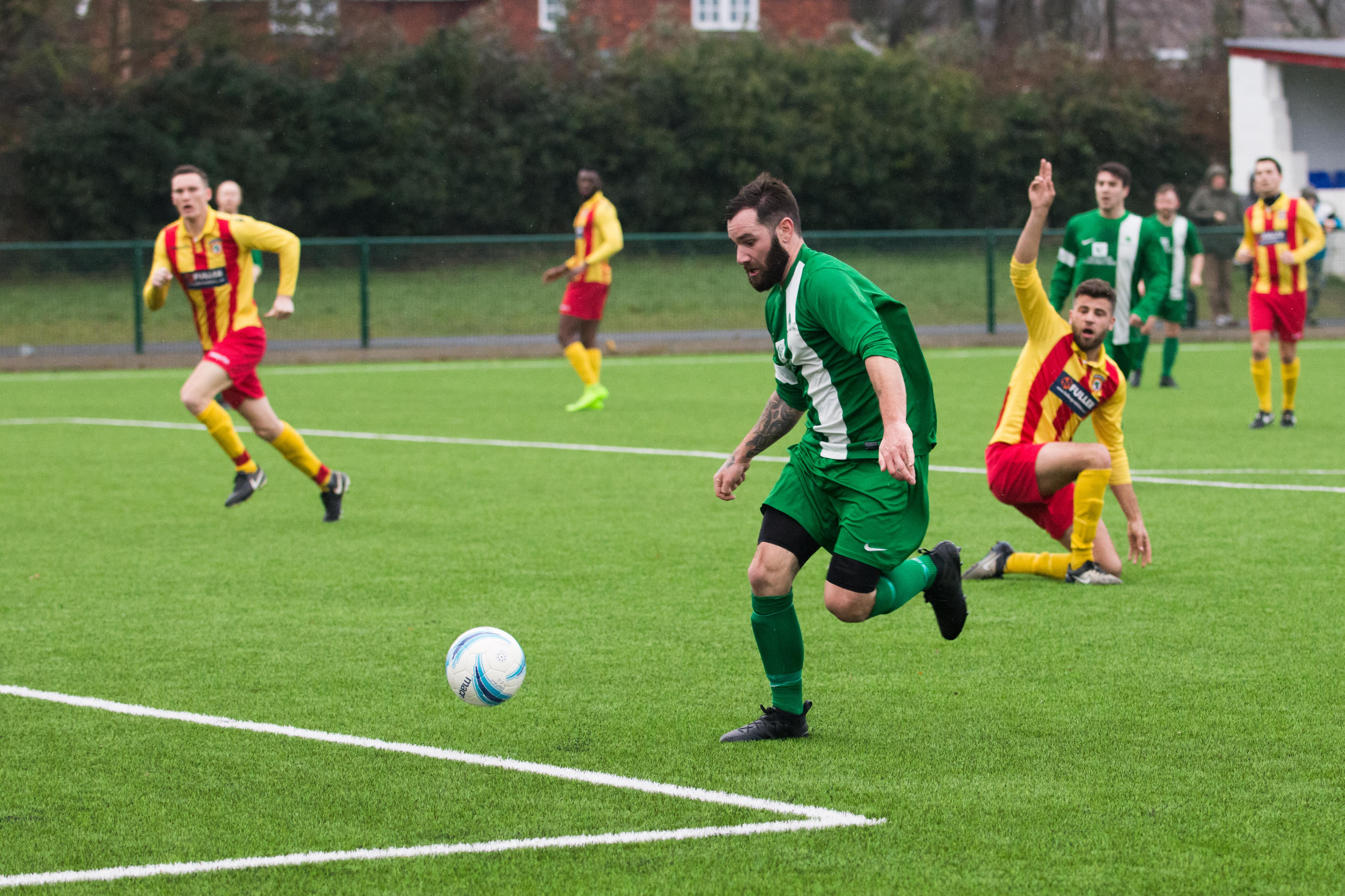 Lingfield FC vs Mile Oak FC 20.01.18 19