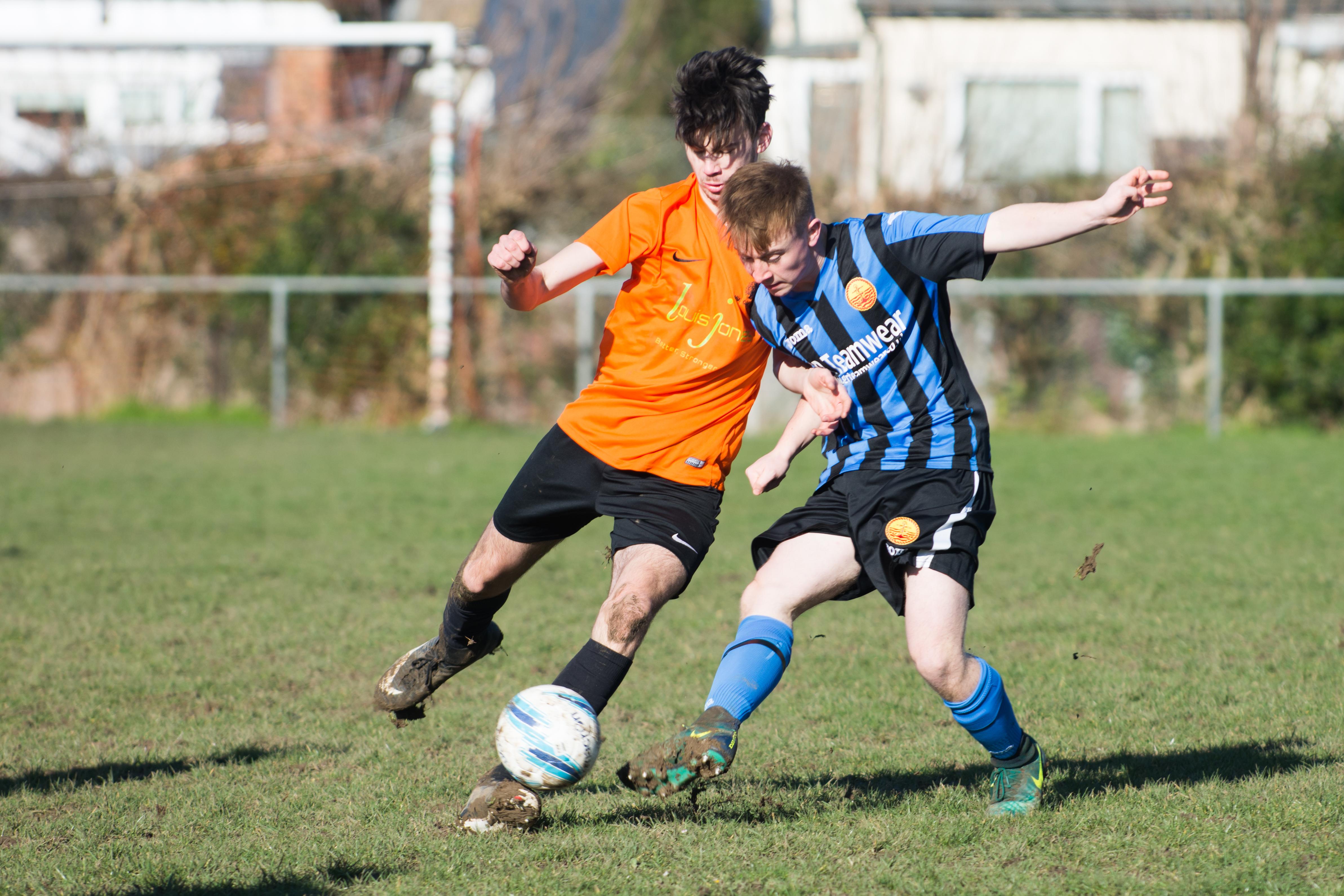 Mile Oak FC U18s vs Newhaven FC U18s 04.02.18 06