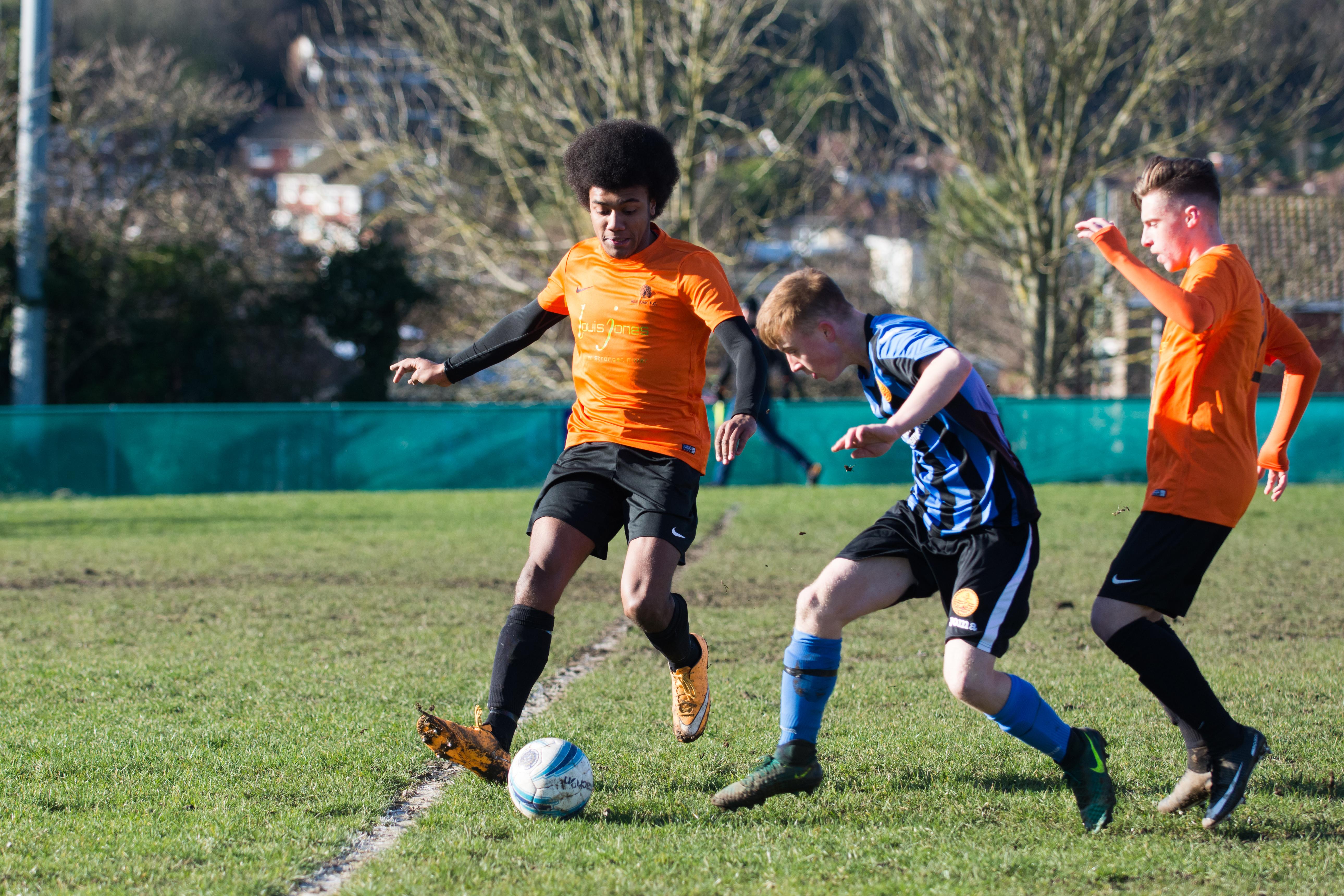 Mile Oak FC U18s vs Newhaven FC U18s 04.02.18 08