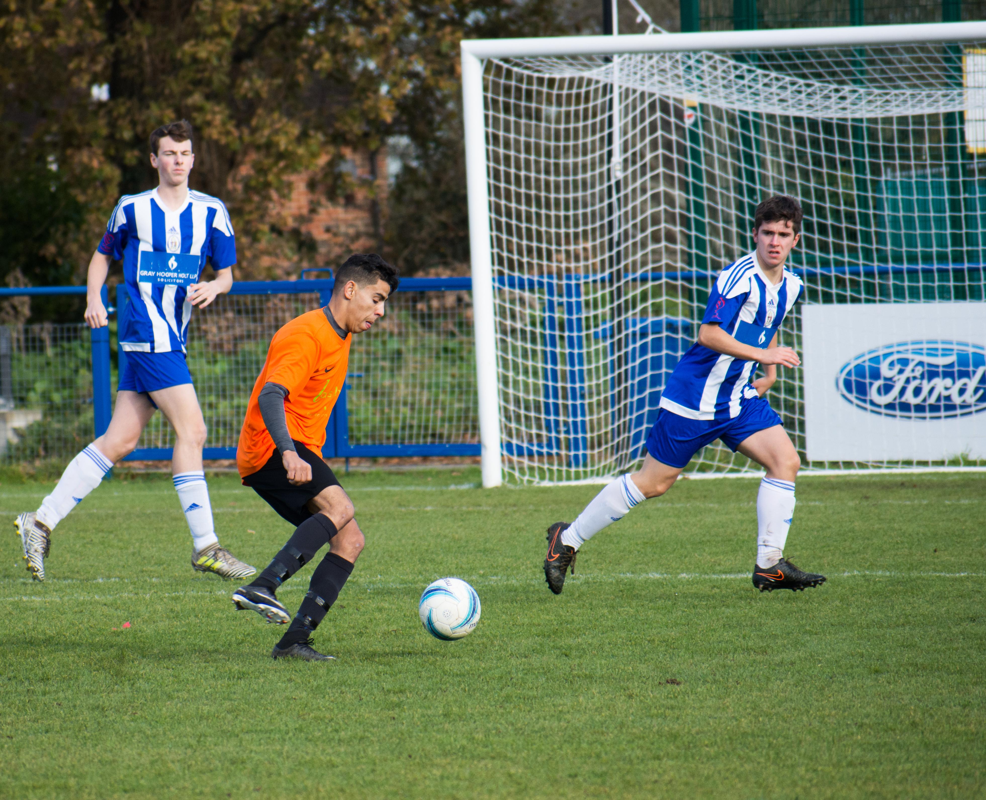 Mile Oak U18s vs Haywards Heath U18s 19.11.17 06