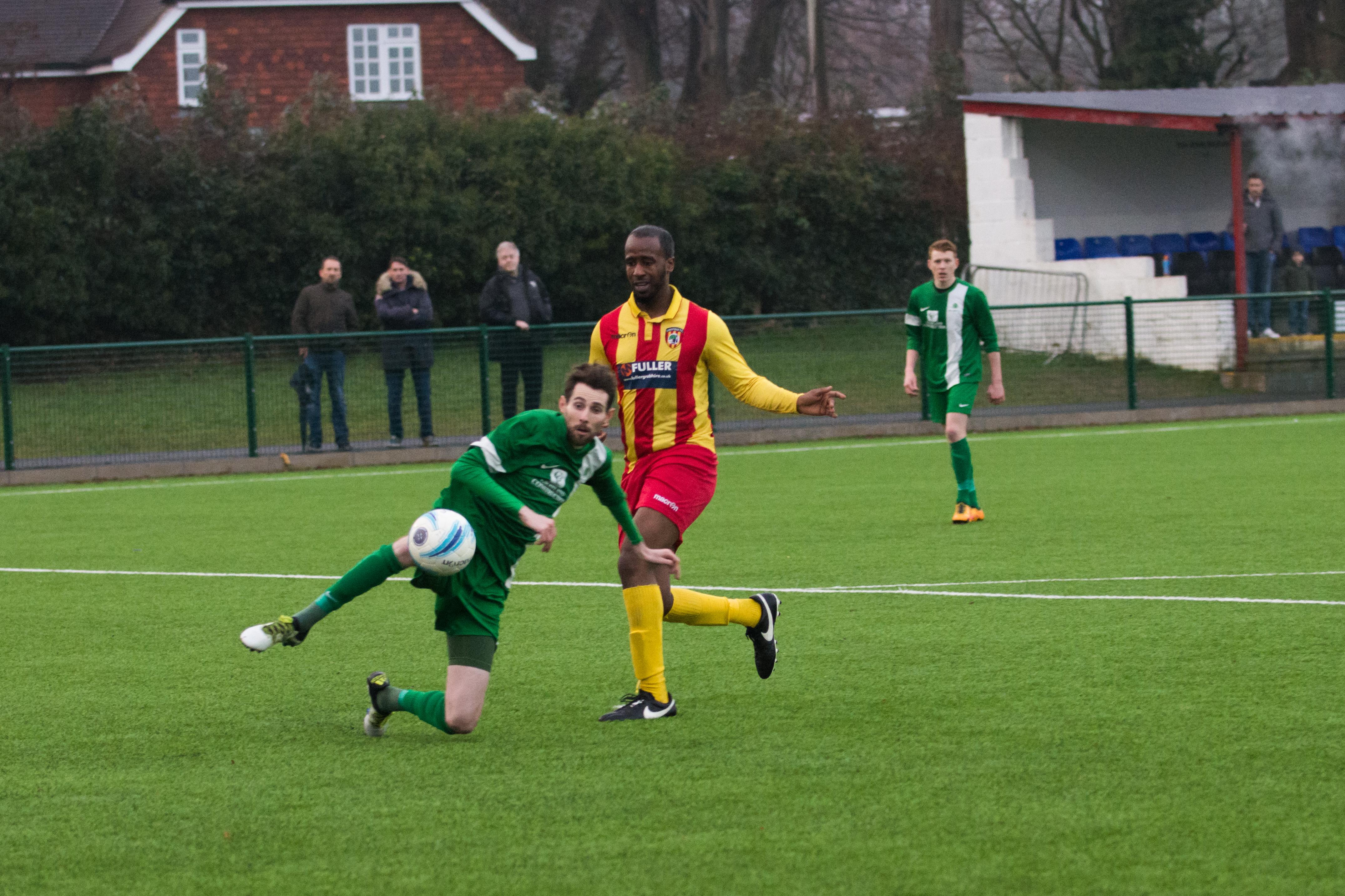 Lingfield FC vs Mile Oak FC 20.01.18 28