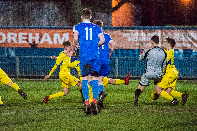 DAVID_JEFFERY Shoreham FC U18s vs Woking FC Academy 22.03.18 90