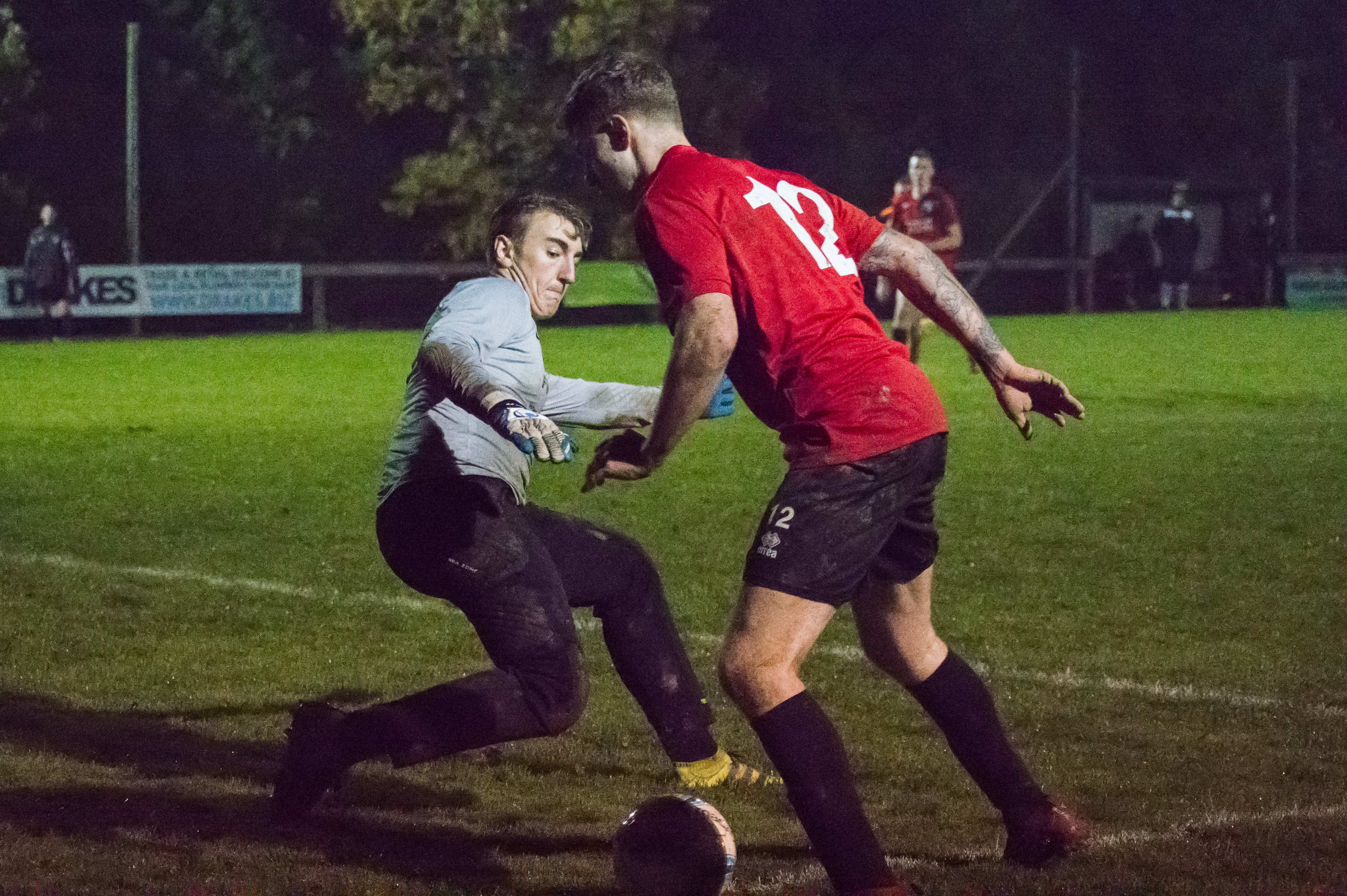 Mile Oak U21s vs Uckfield U21s 02.11.17 11