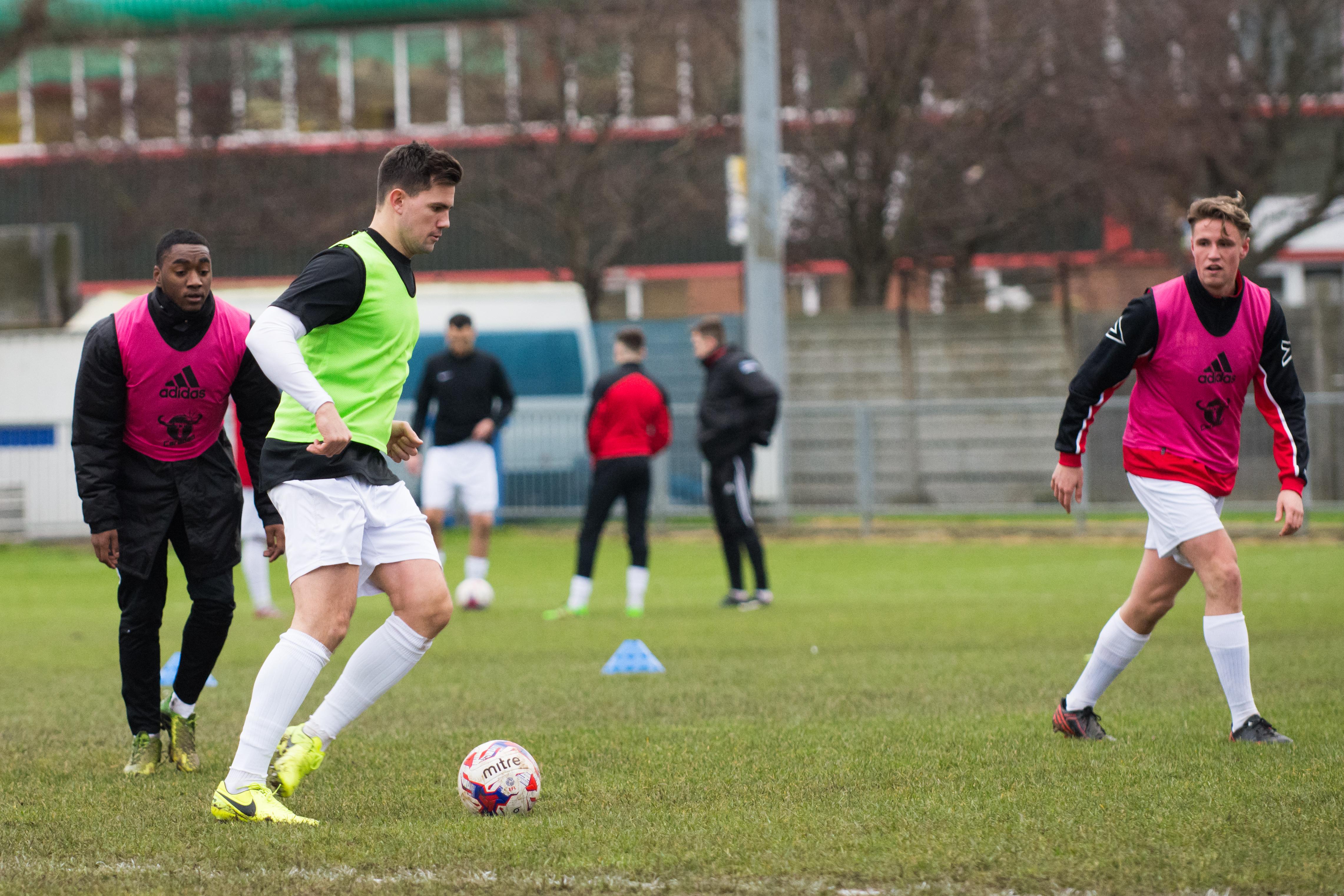 Shoreham FC vs Carshalton Ath 23.12.17 23