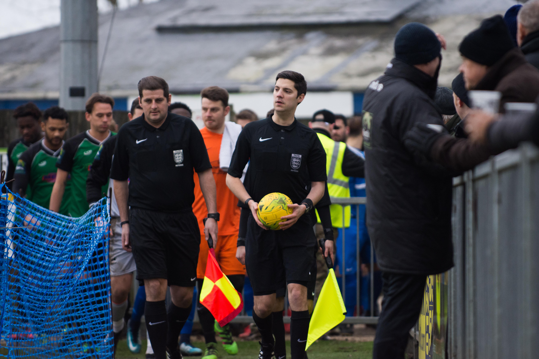 Shoreham FC vs Phoenix Sports 13.01.18 13