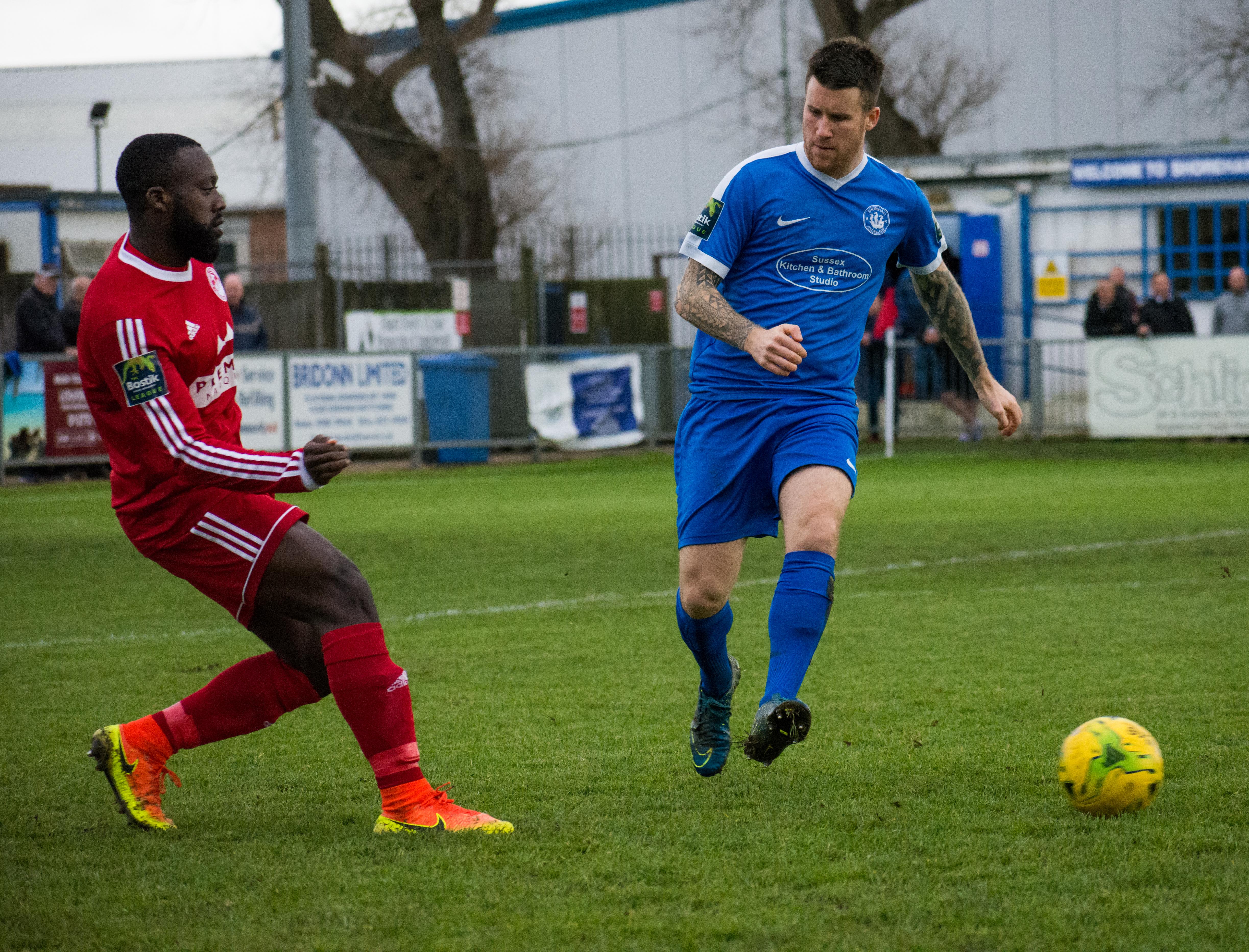 Shoreham FC vs Hythe Town 11.11.17 30