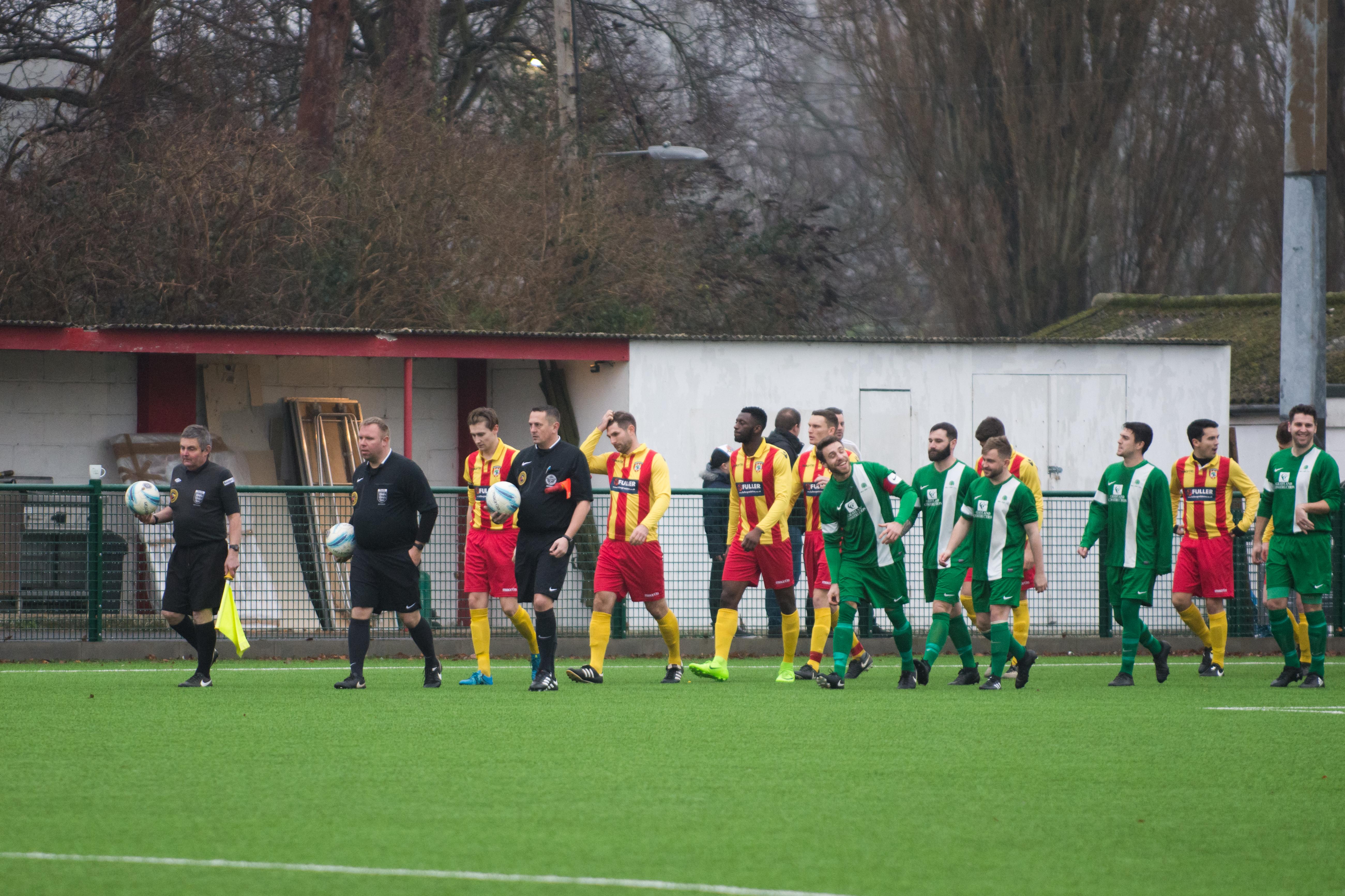 Lingfield FC vs Mile Oak FC 20.01.18 01