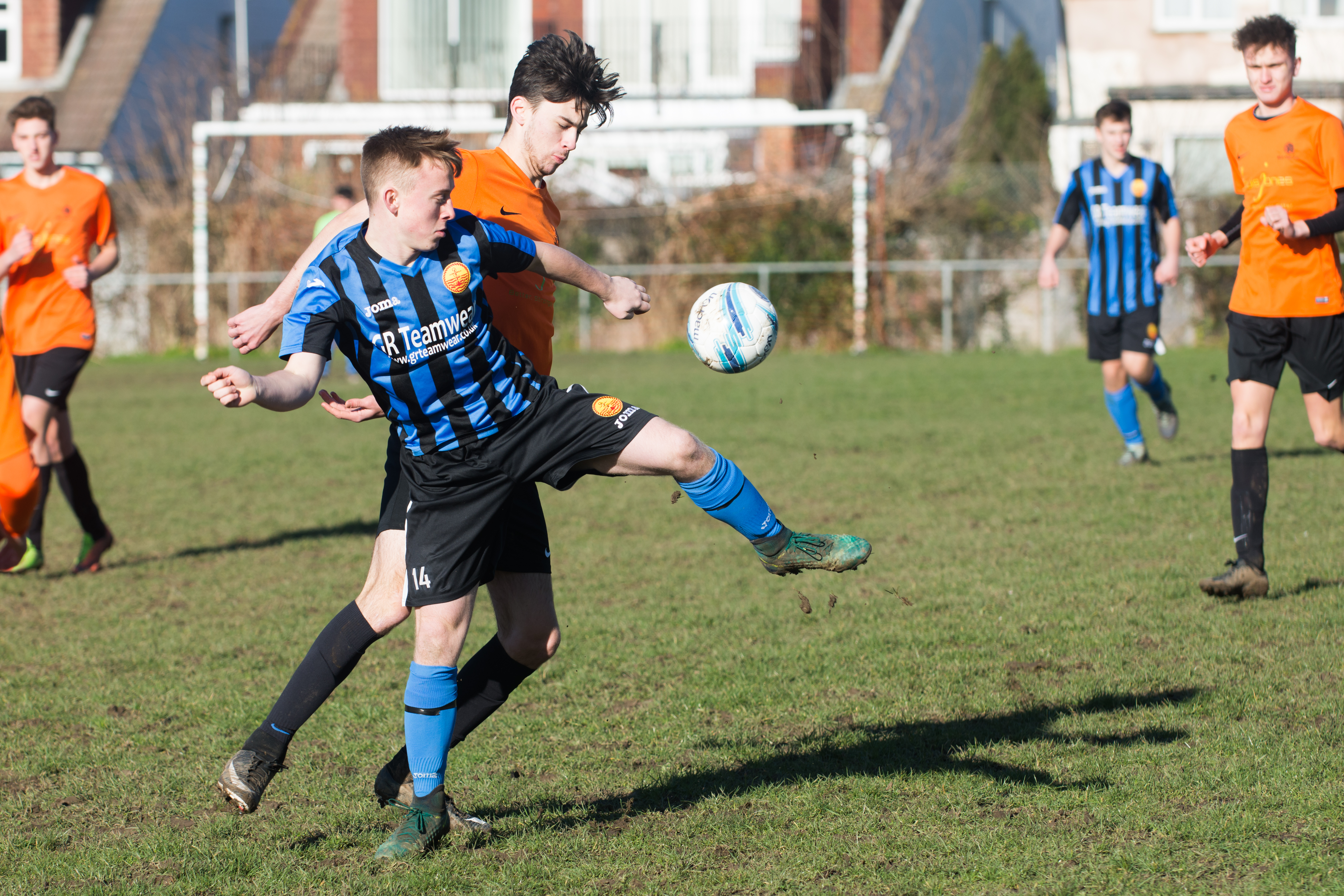 Mile Oak FC U18s vs Newhaven FC U18s 04.02.18 03