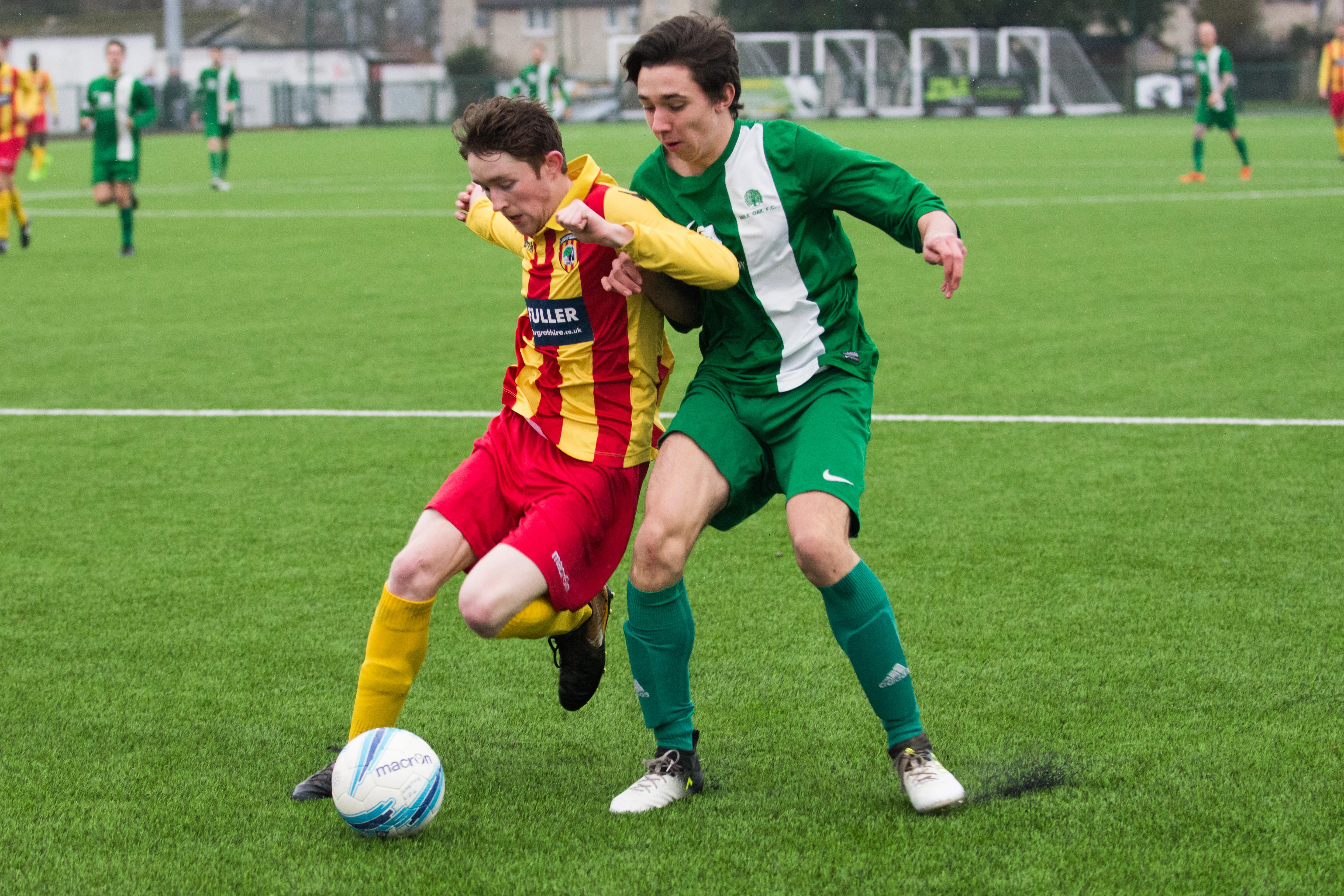 Lingfield FC vs Mile Oak FC 20.01.18 22