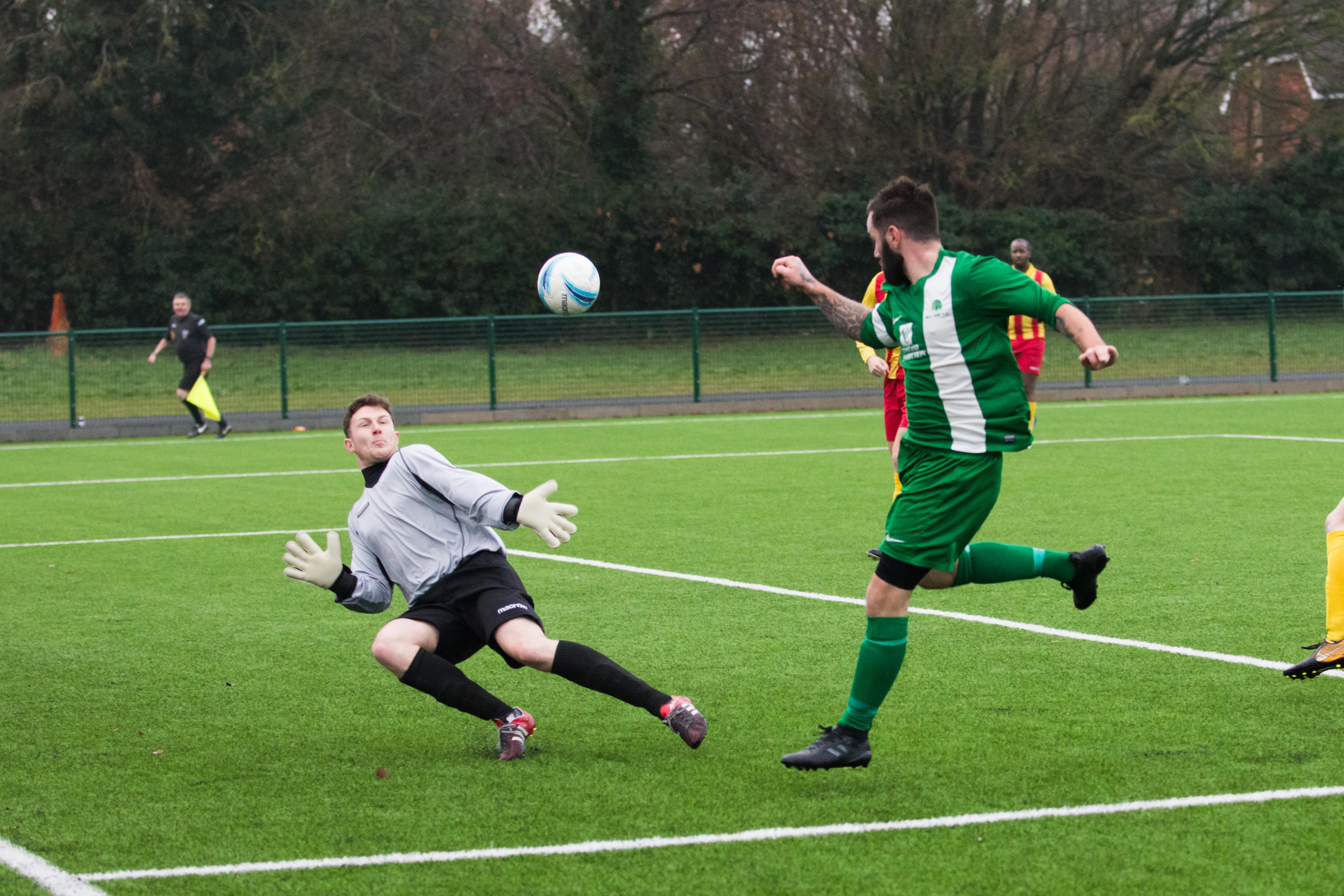 Lingfield FC vs Mile Oak FC 20.01.18 21