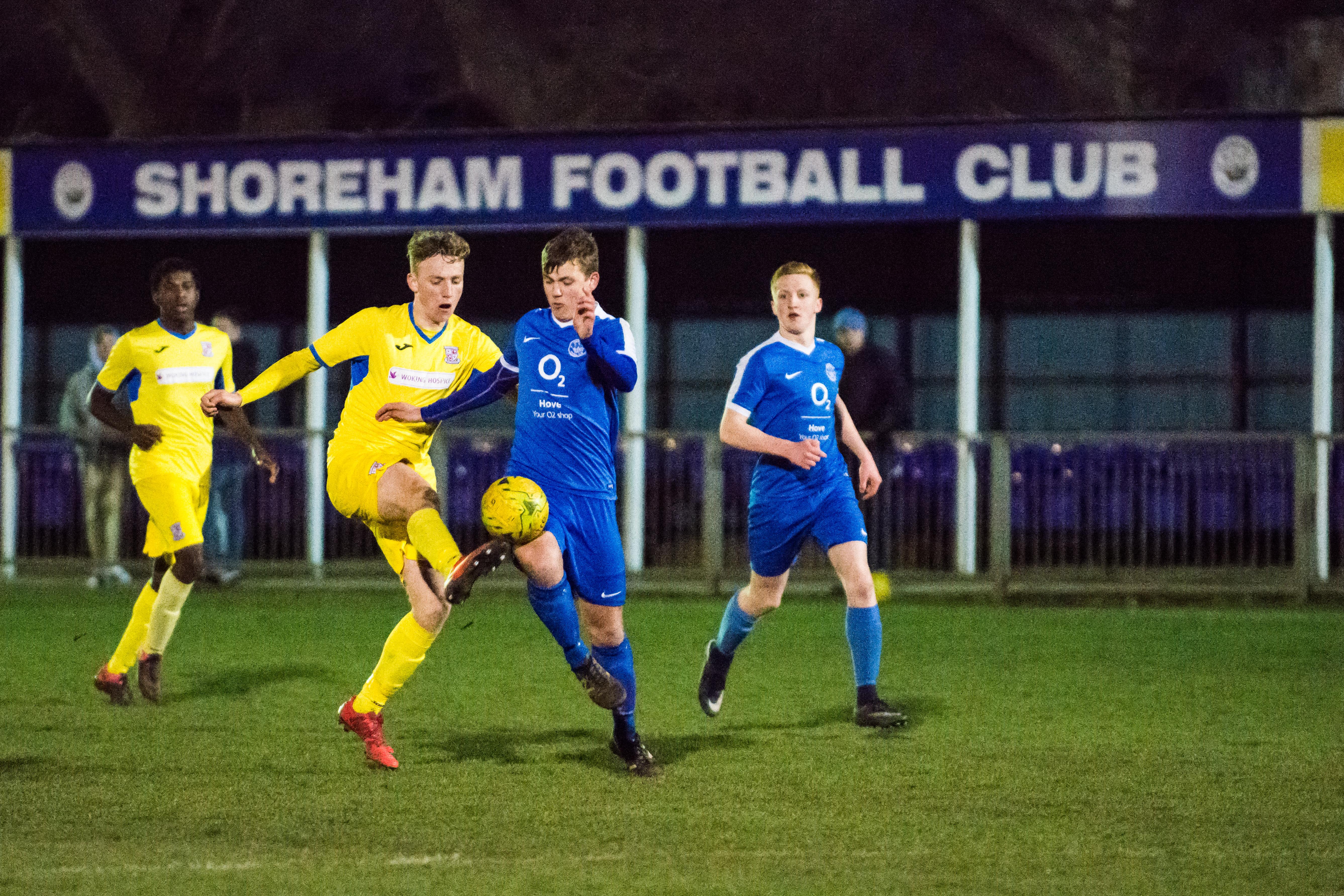 DAVID_JEFFERY Shoreham FC U18s vs Woking FC Academy 22.03.18 72