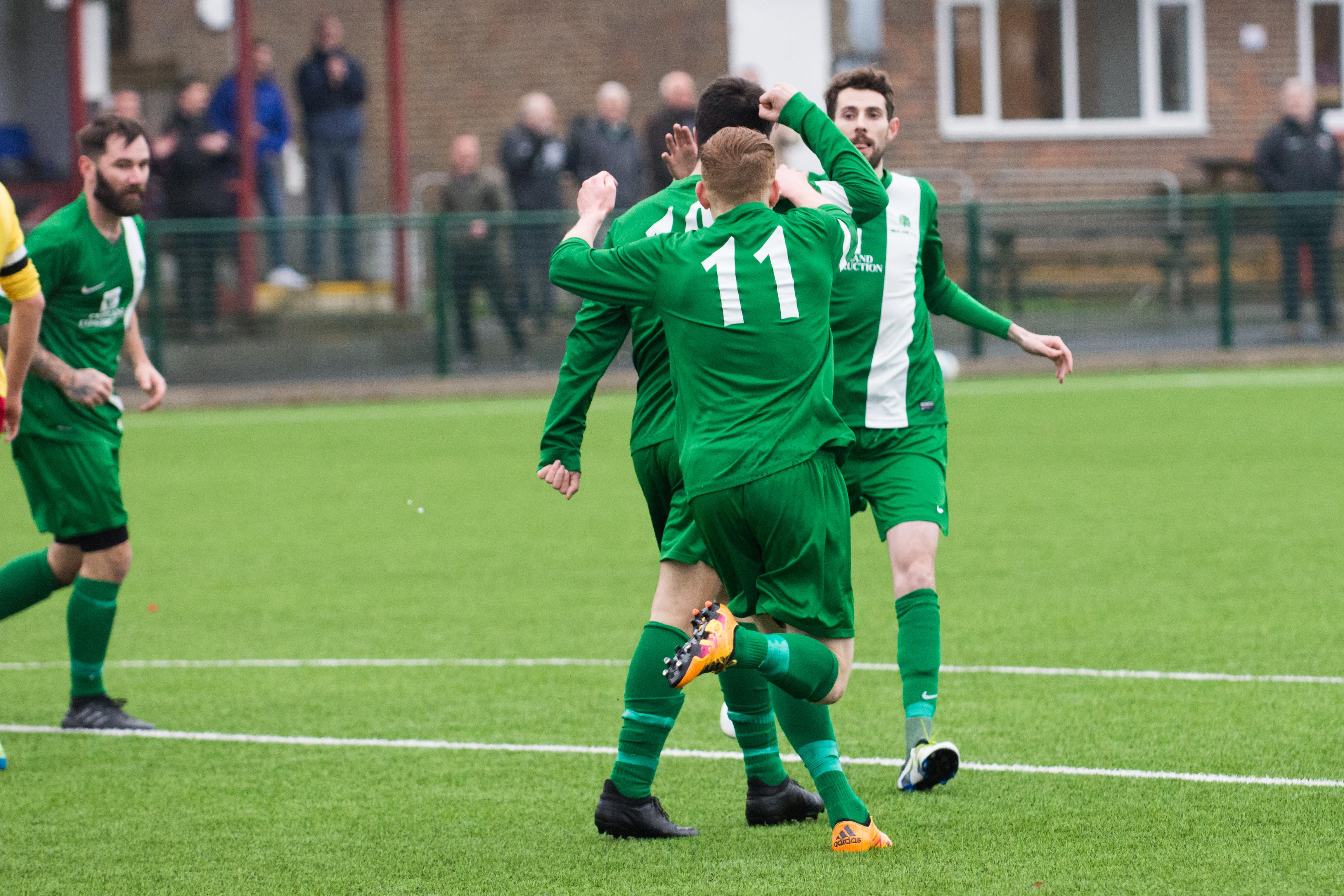 Lingfield FC vs Mile Oak FC 20.01.18 10