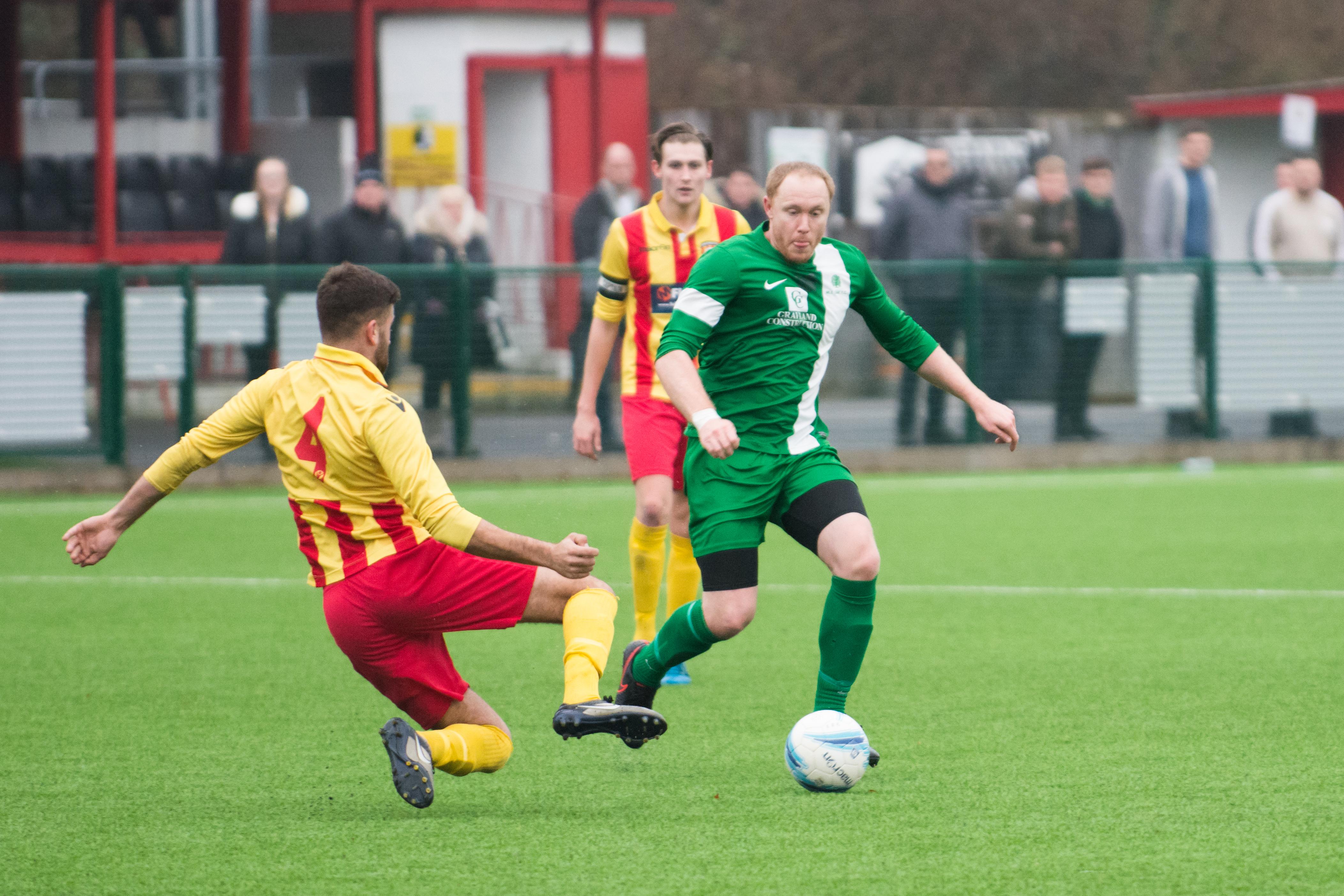 Lingfield FC vs Mile Oak FC 20.01.18 13