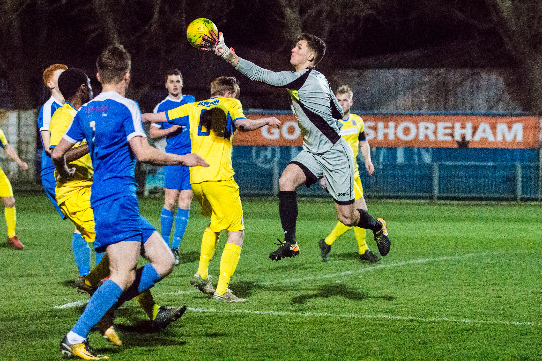 DAVID_JEFFERY Shoreham FC U18s vs Woking FC Academy 22.03.18 24