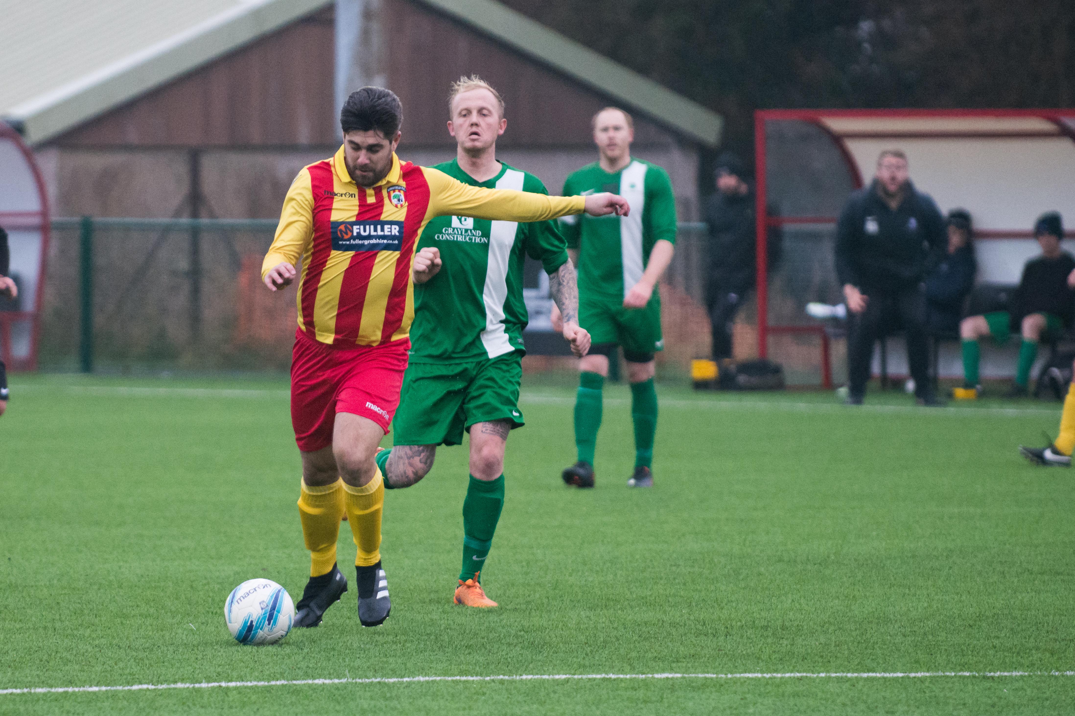 Lingfield FC vs Mile Oak FC 20.01.18 29