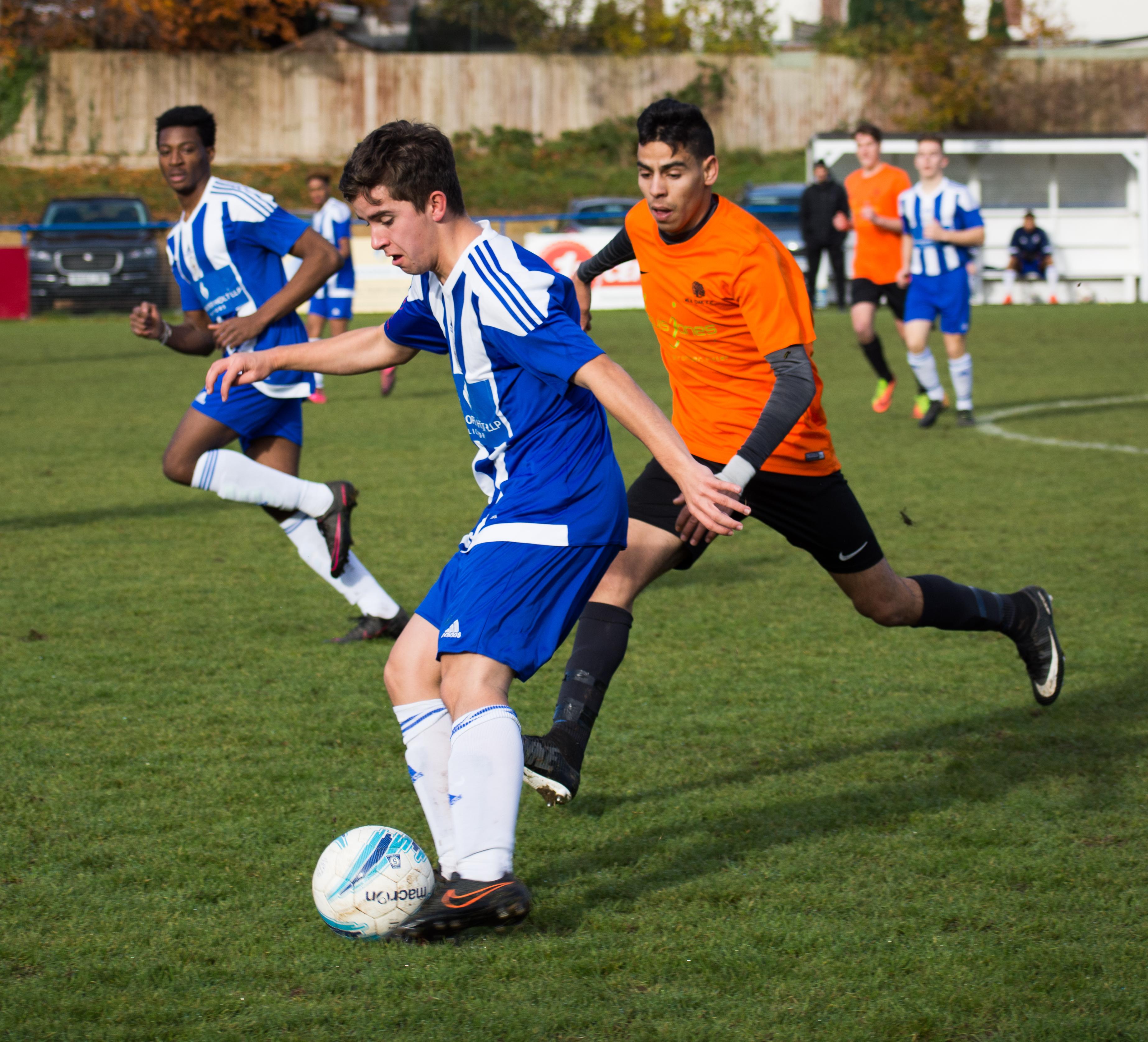 Mile Oak U18s vs Haywards Heath U18s 19.11.17 12