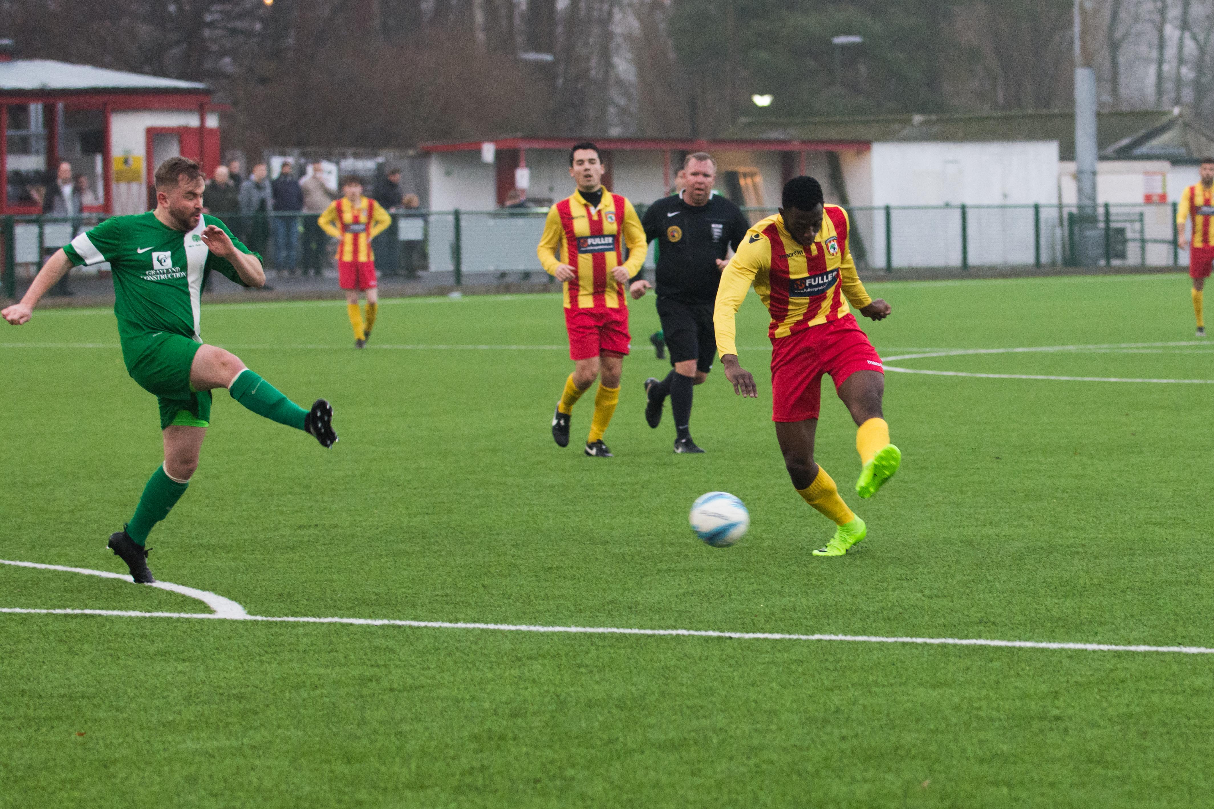 Lingfield FC vs Mile Oak FC 20.01.18 27