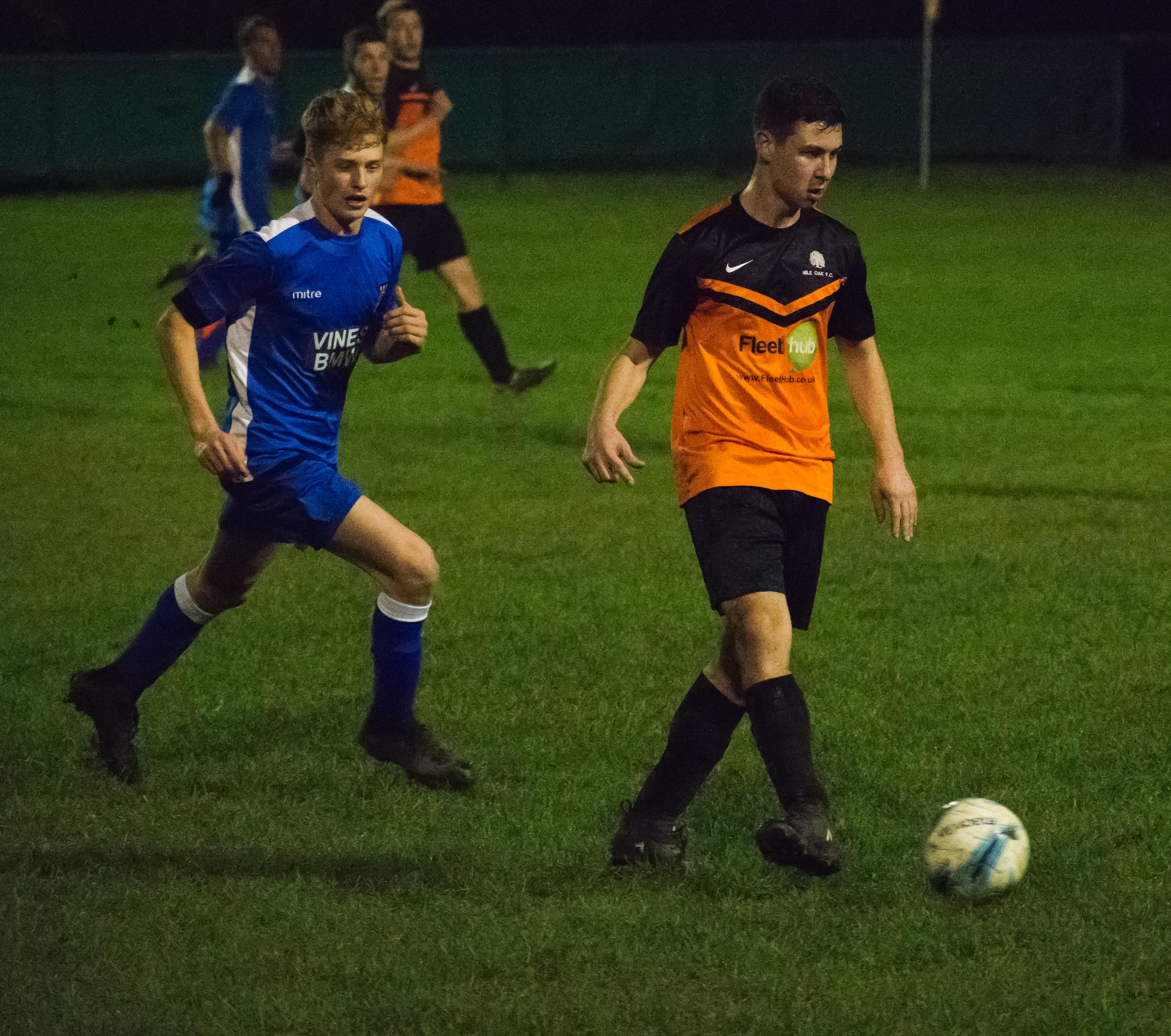 Mile Oak U21s vs Three Bridges U21s 09.11.17 06